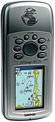 Garmin GPS 76CSX Handheld GPS with Barometric Altimeter and Electronic Compass - http://bassfishingmaniacs.com/garmin-gps-76csx-handheld-gps-with-barometric-altimeter-and-electronic-compass/