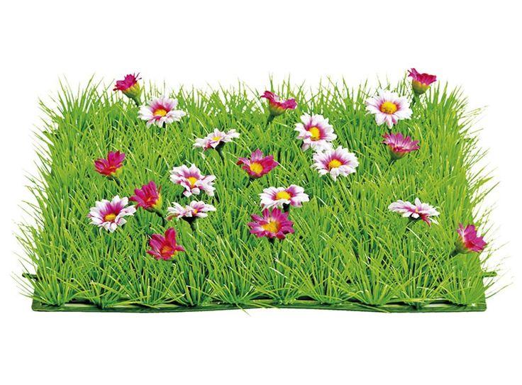 Haal de tuin naar binnen met deze grasmatjes met bloemen! Ook leuk wanneer je geen tuin hebt; zo krijgt je huis toch een 'groene' uitstraling! De grasmatjes zijn verkrijgbaar met verschillende soorten bloemen.