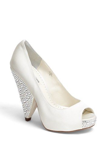 Love these chunky heeled peep toes - bet they are SO comfy too! Benjamin Adams London 'Rhiana' Pump   Nordstrom