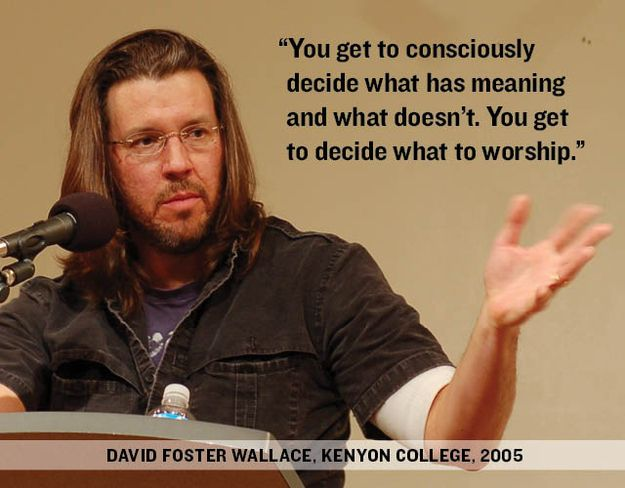 kenyon commencement speech Anatomy of a great commencement speech :  writer david foster wallace spoke at kenyon college and, in a speech that went viral long ago and seems to.