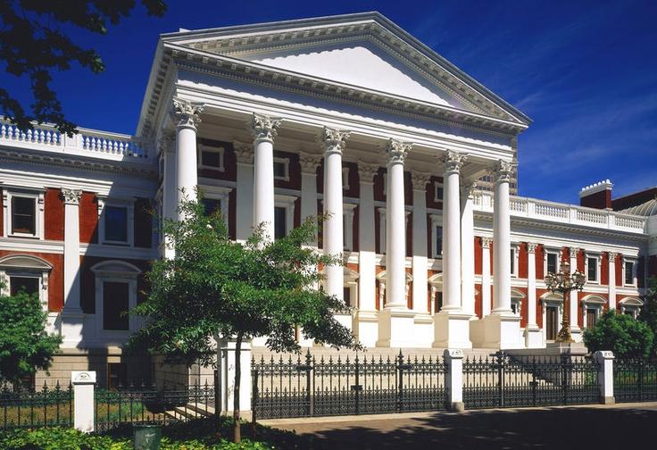 Das Houses of Parliament bei einer Englisch Sprachreise nach Kapstadt!