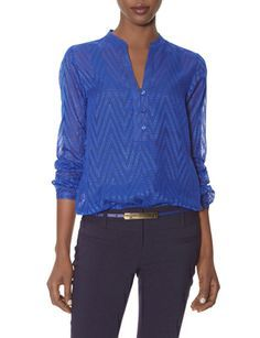 Eyelashed Chevron Layering Top from THELIMITED.com  #TheLimited
