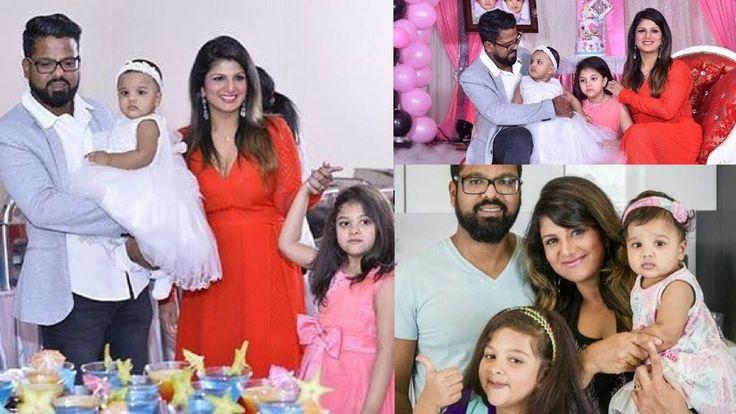 Actress Rambha Daughter Laanya Birthday Party Photos