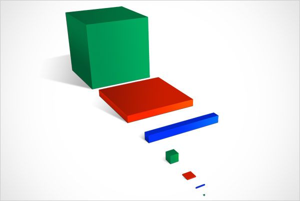 Montessori Hierarchical Material Complete tutorial of how to make this material - amazing!!!!!!