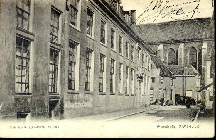 Broerenstraat 11, ca. 1900.