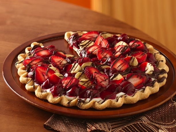 Banana Split Tart: Desserts, Soul Food, Cream Pies, Pies Crusts, Bananas Split, Banana Split, Strawberries Pies, Split Tarts, Tarts Recipes
