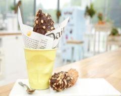 Profiteroles chocolat caramel cacahuètes : Le Meilleur Pâtissier saison 5