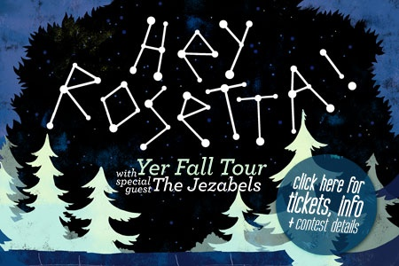 Saw the guys in London on the Yer Fall tour. Third time. Also up for Juno and a few ECMAs
