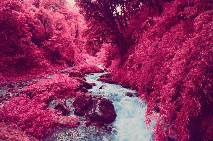 Promenez-vous au sommet de l'Himalaya dans un paysage surréaliste immortalisé par la photographie infrarouge - Infrared picture taken in the Himalaya.