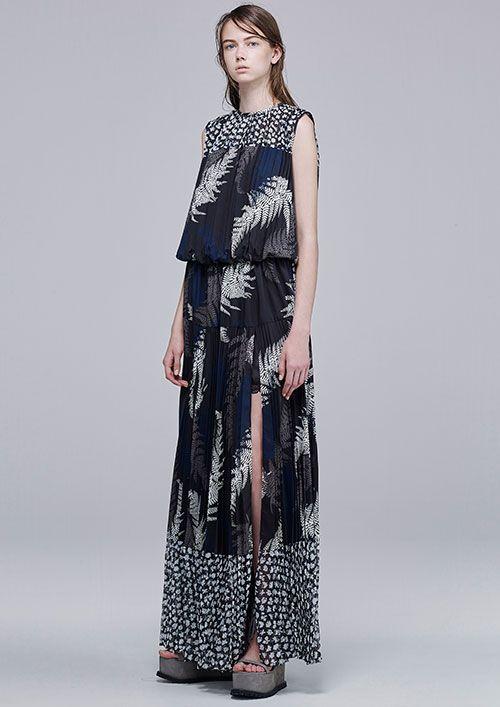 sacai 2016年リゾートコレクション - 無秩序でアンバランス、sacai流ハイブリッドスタイル - 写真 | ファッションニュース - ファッションプレス