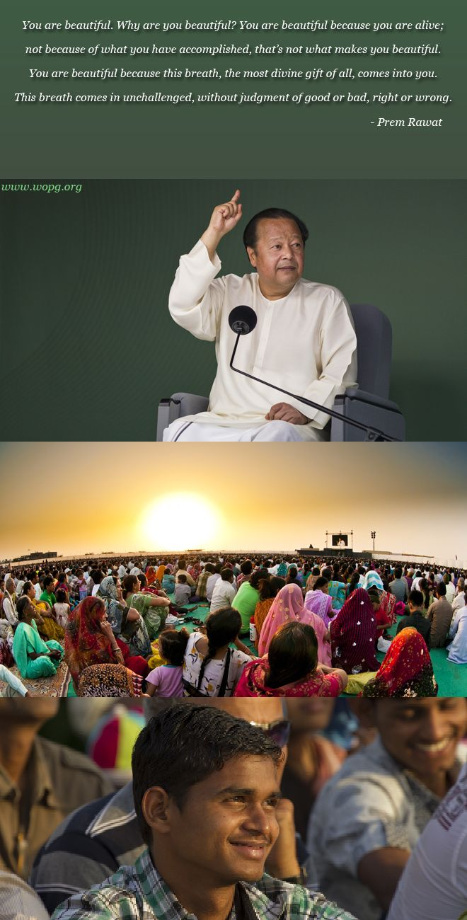 india event,Prem Rawat (Maharaji),quote