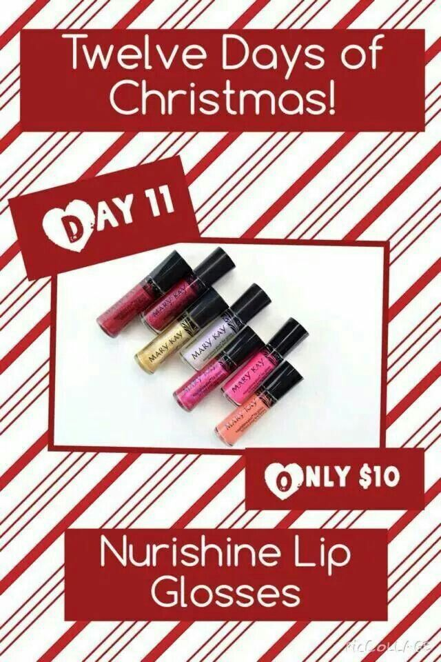 On the 11th Day of Christmas, my Mary Kay Consultant gave to me. www.marykay.com/orhile