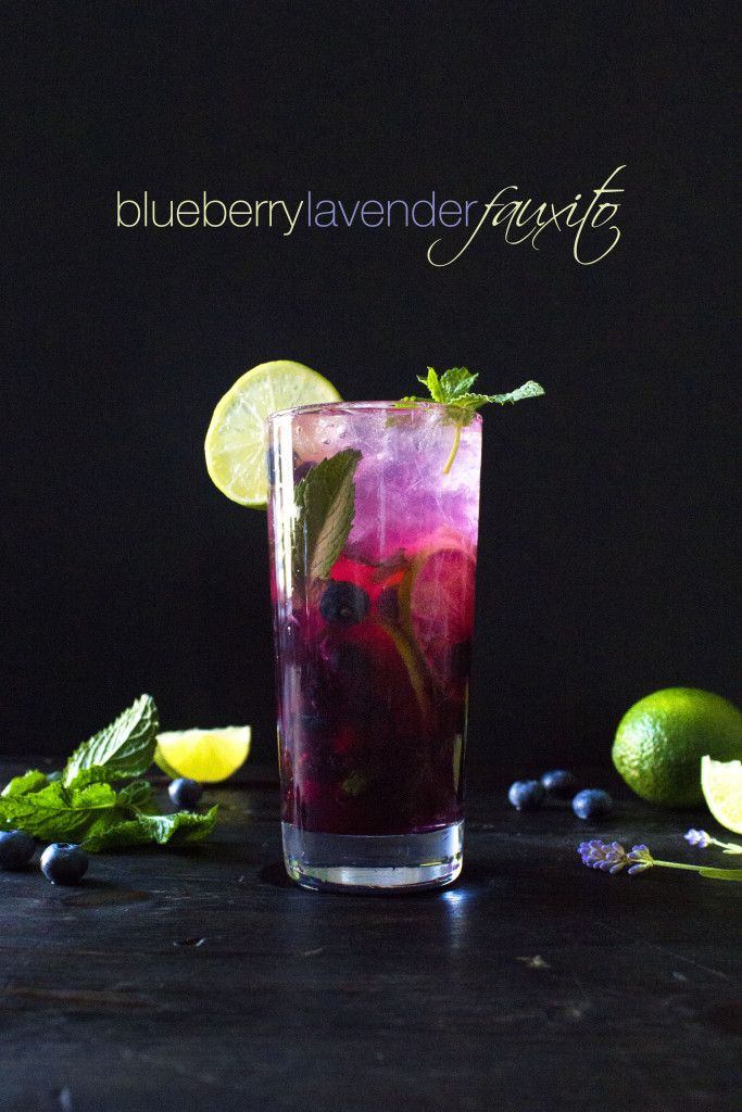 Blueberry Lavender Lemonade Recipe — Dishmaps