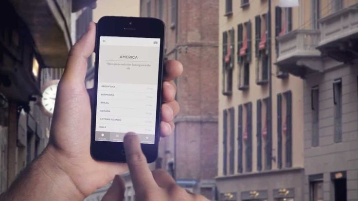 The app Hangar Travel Guide is a travel experience through places suggested by creative people. App development and tutorial video by Hangar Design Group.