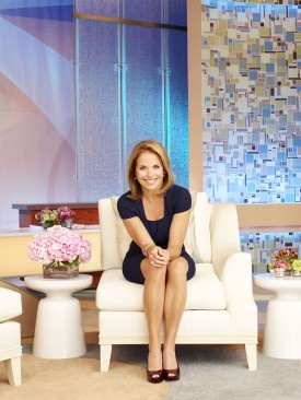 """So, Katie Couric's people have released the list of initial guests on her upcoming talk show, and let's see...We've got four female singers, a """"Modern Family"""" member, a now-stinking-rich """"mom porn"""" writer, a couple of more actresses, a motivational speaker and the surviving kin of a couple of famous murder victims.     What do you think of the list? Does it have your remote control all twitchy?     Read more here: http://www.deadline.com/2012/08/katie-courics-talk-show-sets-first-guests/"""