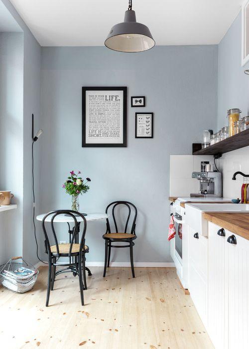 Scandinavian Kitchen by Kathy Kunz Interiors