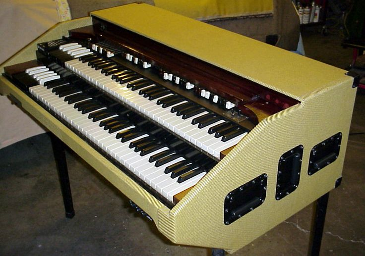 "Northern Chop Hammond Organ ""Tweed"" Portable by BB Organ"
