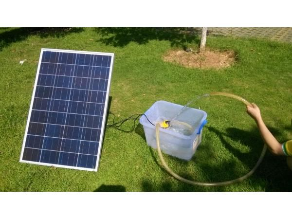 ECO-WORTHY Solar Power Pond Water Pump with 100 Watt Solar Panel