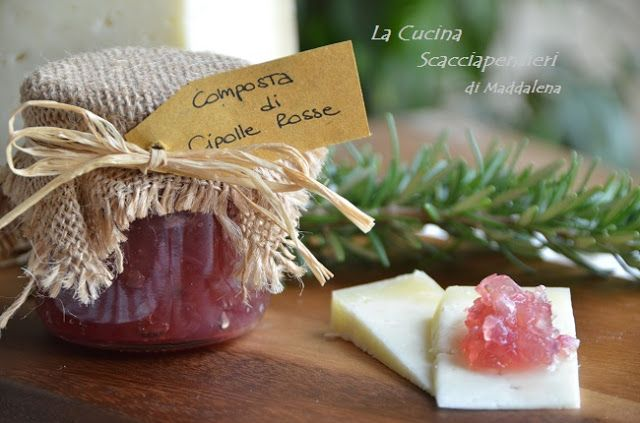 Composta veloce di cipolle rosse | Cucina Scacciapensieri