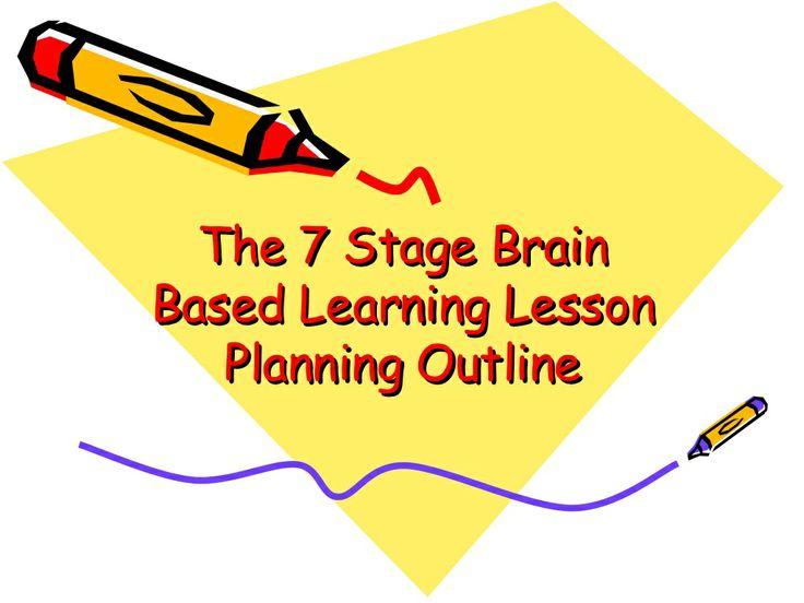 the-7-stage-brain-based-learning-lesson-planning-290516 by Karen Brooks via Slideshare