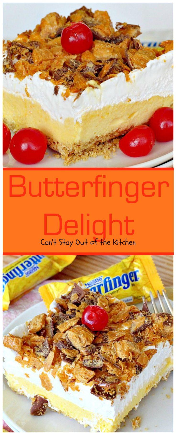 Pinterest recipe for butterfinger cake