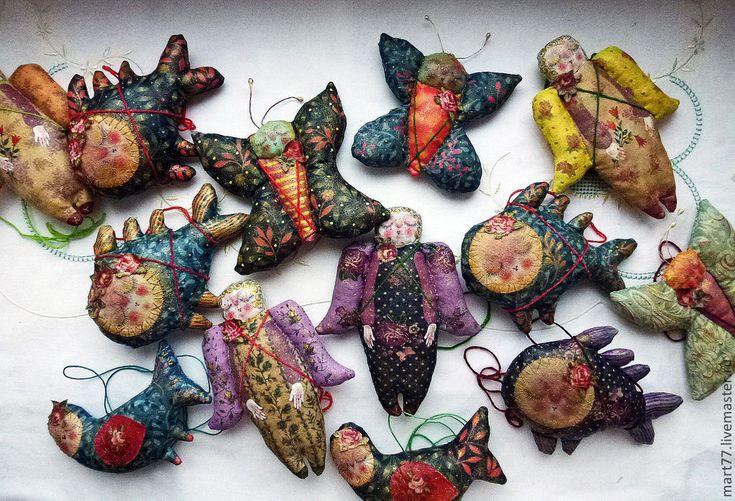 """Купить """"ванильные малыши"""" - ангел, ангелочек, рыба, рыбка, бабочка, птица, птичка"""