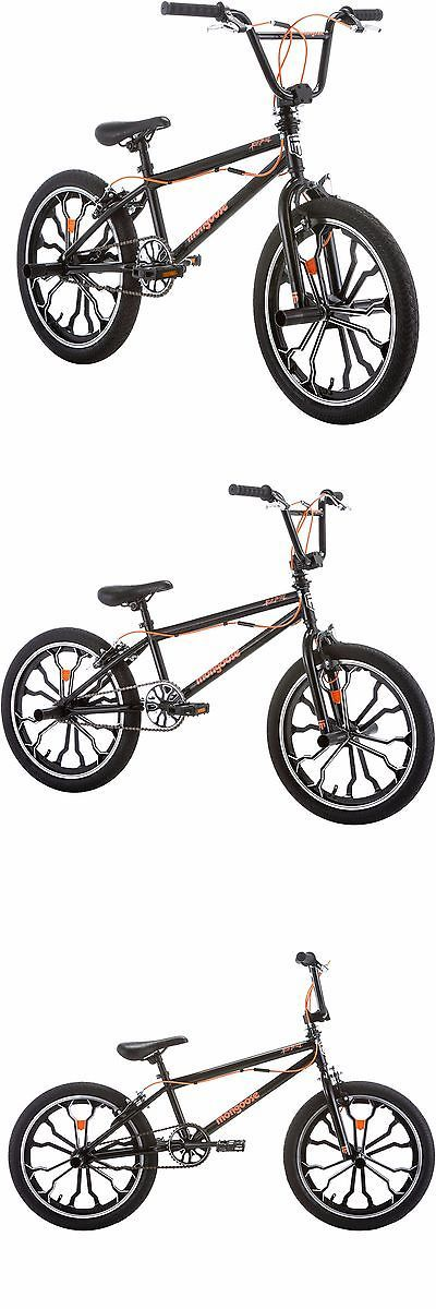Other Cycling 2904: 20 Mongoose Rebel Freestyle Boys Bmx Bike Rugged Steel Black Frame Bicycle New -> BUY IT NOW ONLY: $177.38 on eBay!