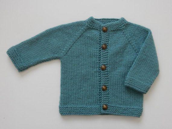 De la mano de punto bebé niña suéter 3-6 meses / suéter de