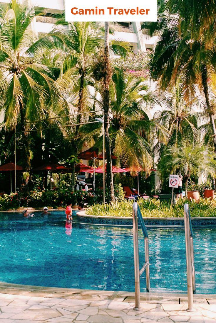 Amazing views with the pool at PARKROYAL Penang Resort in Batu ferringhi, Malaysia.