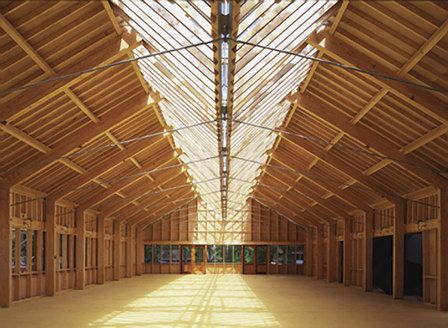 Shim-Sutcliffe Architects Moorelands Camp Dining Hall, Lake Kawagama, Dorset, Ontario - looked nothing like this when I went to this camp..