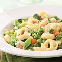 Tortellini Primavera - EatingWell.com