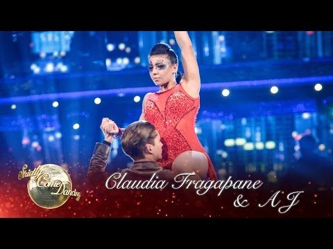 Claudia Fragapane and AJ Pritchard Argentine Tango to 'Cry Me A River' by Justin Timberlake.