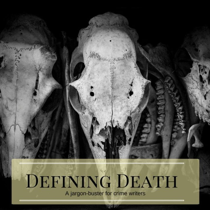 Defining Death: Do you know your homicide from your amicicide? Visit thepuppetshow.co.uk for more crime writing resources!