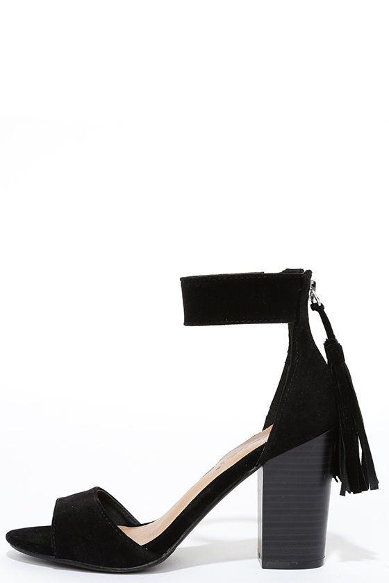 Large Chapeau Ajustement Toe En Daim - Espadrilles Park Lane Noir Oh30b1oTd3