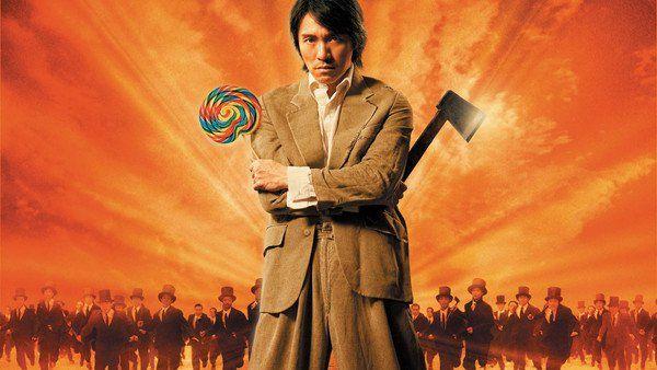 """Kung Fu Hustle (2004) คนเล็กหมัดเทวดา  เหตุการณ์ทั้งหมด เกิดขึ้นท่ามกลางความวุ่นวายในประเทศจีน ก่อนเกิดเหตุปฏิวัติ ซิง (โจวซิงฉือ) คือโจรกระจอกใฝ่สูง ที่หวังจะได้เป็นหนึ่งในสมาชิกแก๊งแอ็กซ์ (โคตร) อำมหิตและชั่วร้าย ที่อยู่เบื้องหลังเหตุร้ายที่เกิดขึ้นไปทั่วทุกหัวระ แหง ซิงที่เดินเกะกะระรานตามประสาเด็กแนว ไปทั่วชุมชนที่ชาวบ้านอยู่กันอย่างหนาแน่น ในย่านที่เรียกกันว่า """"ตรอกเล้าหมู"""" พยายามรีดไถเงินจากชาวบ้านตาดำ ๆ คนหนึ่ง"""