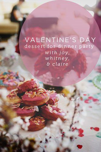 happy gal-entine's day!: Health Desserts, Valentine'S Day, Desserts Desserts, Dinner Parties, Valentine Parties, Desserts Health, Desserts Parties, Healthy Desserts, Valentine Day Parties