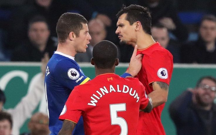 Liverpool fans seethe as Everton's Ross Barkley only sees yellow for heavy tackle in Merseyside derby