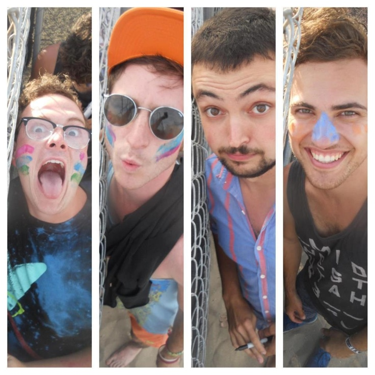 walk the moon... kinda got a feeling I'm gonna fall in love with them