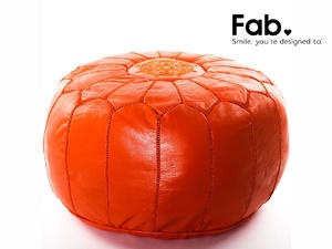 No spot for this, but love these moroccan poufs.  And the word, pouf.    LivingSocial Shop
