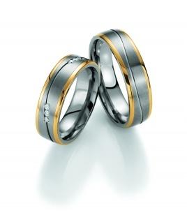 Collection ruesch Traumringe kaufen - http://www.steiner-juwelier.at/Schmuck/1-Paar-Collection-Ruesch-Titan-Gold-Whitestyle::545.html