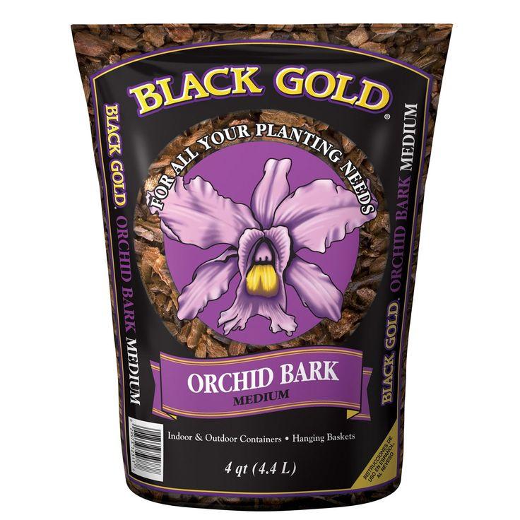 Black Gold 1491202 8 QT P 8 Quart Medium Orchid Bark (Lawn Food), Multi (Plastic), Gardening