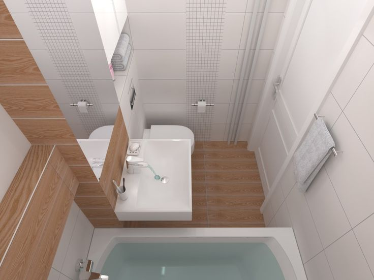 Mała łazienka w czterech odsłonach. Ooo to to to.