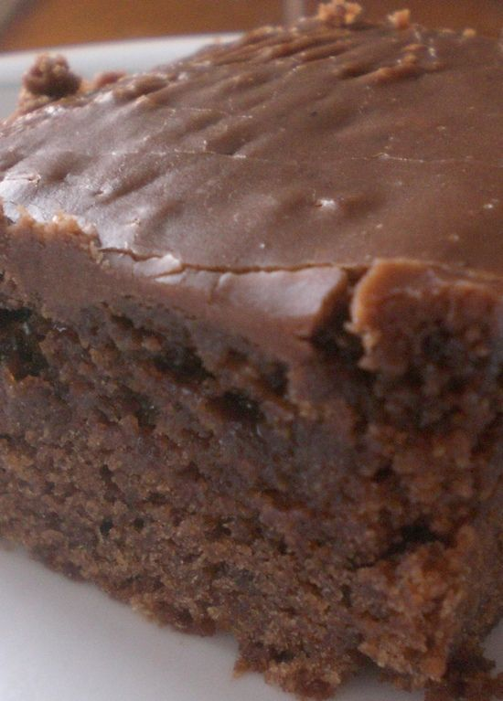 Double Chocolate Coca Cola Cake – it's so moist and the icing is irresistable.