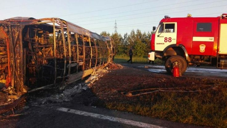 Welcome to Gabriel Atanbiyi Blog: 13 dead in bus crash in Russia