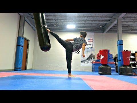 Fun Exercises For Improving Power| Taekwondo Kicking Training - YouTube