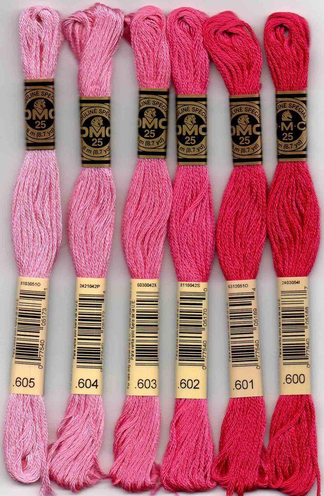 DMC Stranded Cotton number 603