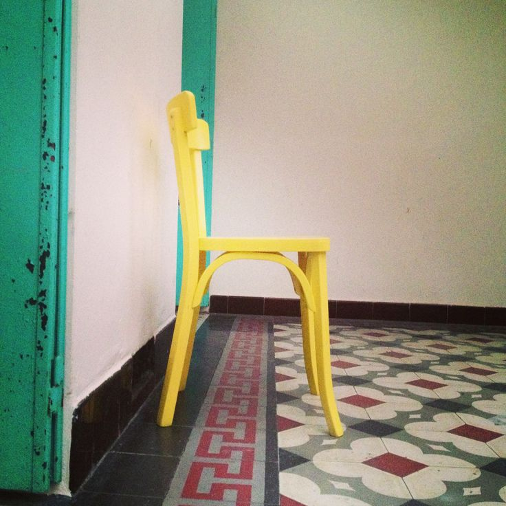 Ma chaise jaune / My home #couleurs #maison #deco #yellow