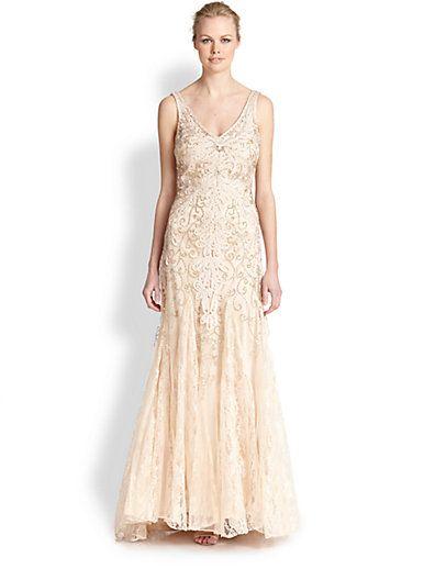 1920s Wedding Dresses Art Deco Style