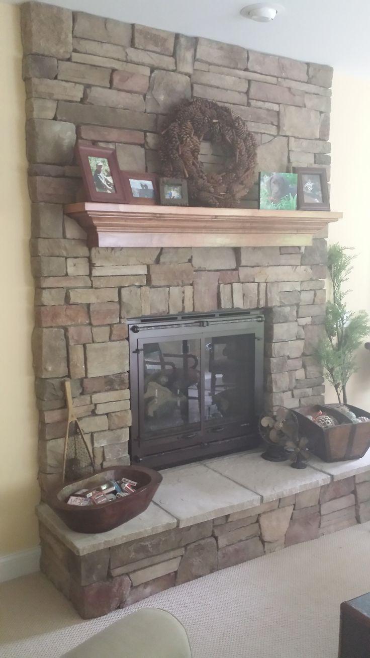 Wood Fireplace Design
