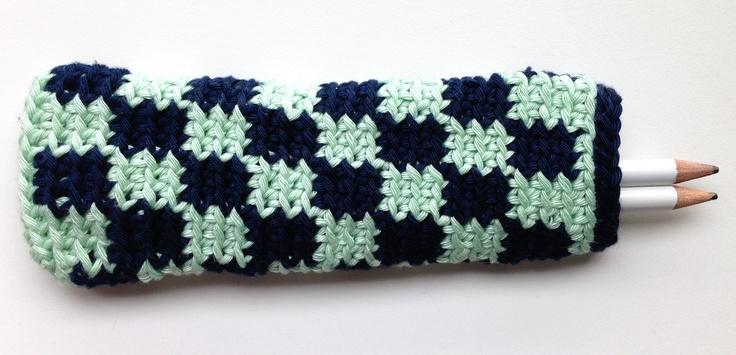 Estoig jacquard crochet